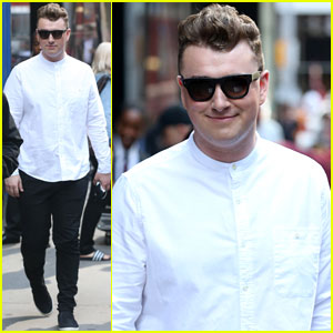 Sam Smith Serendes the 'Good Morning America' Crowd with 'Stay with Me' - Watch Now!