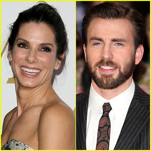 Sandra Bullock Laughs Off Chris Evans Romance Rumors