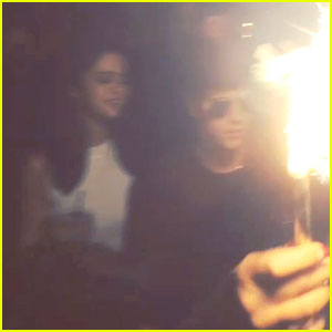Selena Gomez Joins Justin Bieber at His Pal's Birthday Party!