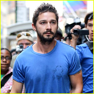 Shia LaBeouf Wildly Chases a Homeless Man Hours Before Arrest