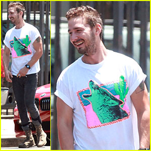 Shia LaBeouf's Smile Makes It Impossible to Howl At Him!
