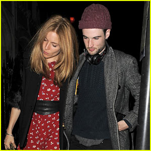 Sienna Miller & Tom Sturridge Stick Together for London Date Night