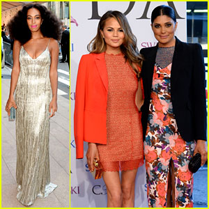 Solange Knowles & Rachel Roy Attend CFDA Fashion Awards 2014 After the Met Ball Drama
