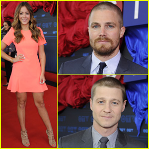 Stephen Amell & Chloe Bennet Hit Canada for CTV Upfronts 2014!