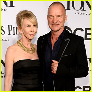 Sting Brings Wife Trudie Styler for Support at the Tony Awards 2014