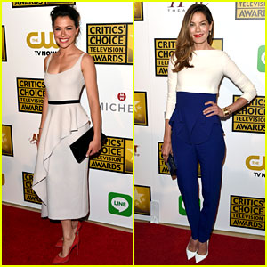 Tatiana Maslany & Michelle Monaghan - Critics' Choice TV Awards 2014