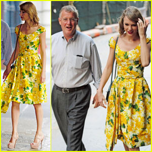 Taylor Swift & Brother Austin Treat Dad to Father's Day Dinner!