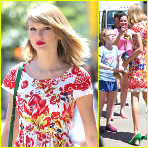 Taylor Swift Bursts With Joy After Meeting Young Fans