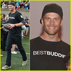 Tom Brady is So Proud to Support Best Buddies!