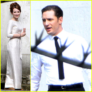 Tom Hardy & Emily Browning Get Married for 'Legend' Movie!