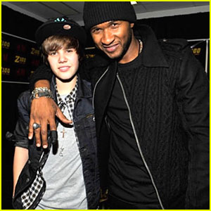 Usher Defends Justin Bieber After Leaked Racist Remarks