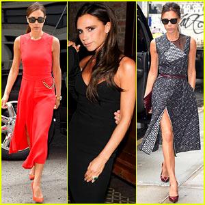 Victoria Beckham's Street Style is Always So Chic!