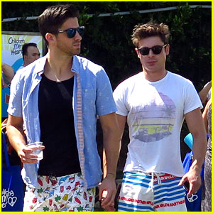 Zac Efron Joins Pal Ryan Rottman for Children Mending Hearts