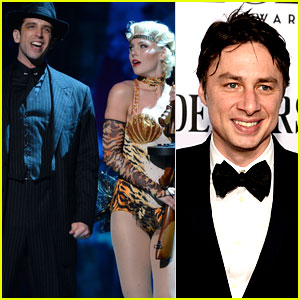Zach Braff Supports 'Bullets Over Broadway' at Tony Awards 2014!
