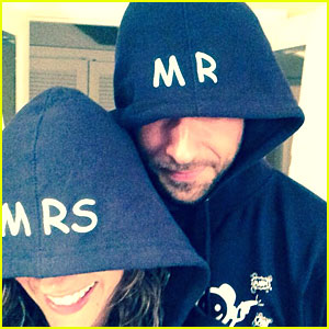 Zachary Levi & Missy Peregrym Quietly Married in Maui!