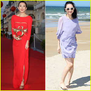 Ziyi Zhang Closes the Cabourg Film Festival After Beach Visit!