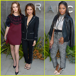 Zoey Deutch & Keke Palmer Get to Preview New Marc by Marc Jacobs Collection!