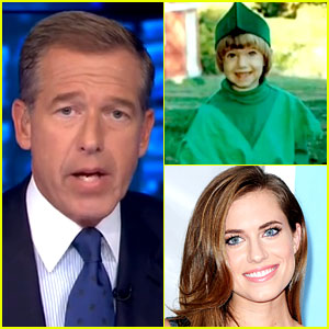 Allison Williams' Dad Brian Williams Reports Her 'Peter Pan' News! (Video)