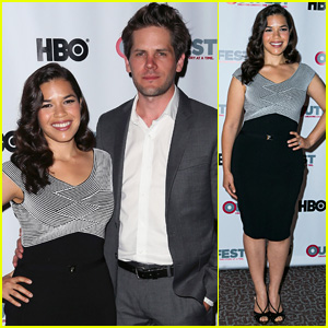 America Ferrera Supports Her Hubby Ryan Piers Williams at 'X/Y' Outfest Screening