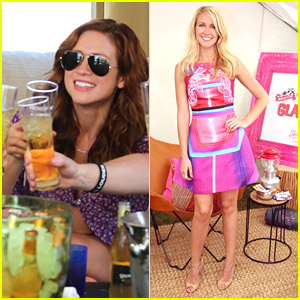 Pitch Perfect's Anna Camp Goes Glamping While Brittany Snow Enjoys The Holiday Weekend with Friends