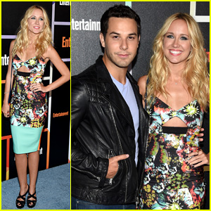 Anna Camp & Skylar Astin Make One Hot Couple at EW's Comic-Con Party