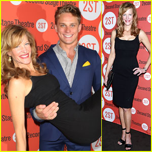 Anna Gunn Gets a Lift from Billy Magnussen at 'Sex with Strangers' Opening Night!