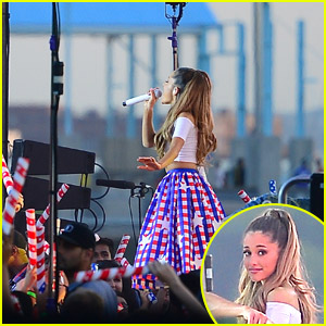 Watch Ariana Grande's Performances From Macy's 4th of July Spectacular!