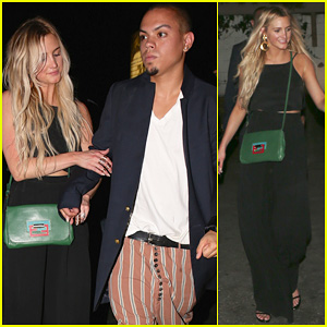 Ashlee Simpson & Evan Ross Are Stylish Duo for DBA Night Out!