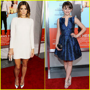 Ashley Greene & Joey King are 'Wish I Was Here' Starlets in NYC!