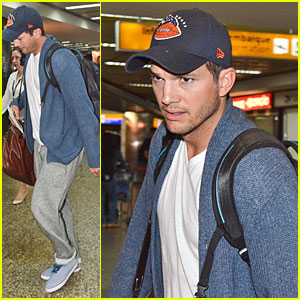 Ashton Kutcher Gets Ready For FIFA World Cup Finals In Brazil!