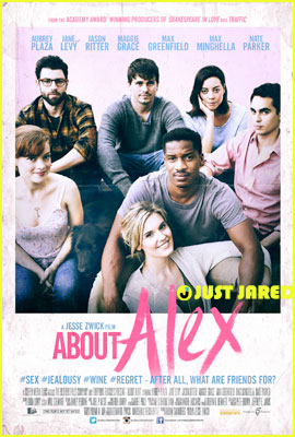 Aubrey Plaza is Surrounded By Friends in New 'About Alex' Poster (Exclusive Debut!)