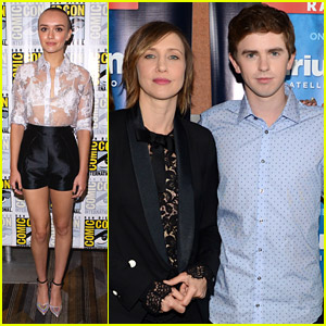 Bates Motel's Olivia Cooke Debuts Shaved Head at Comic-Con 2014!