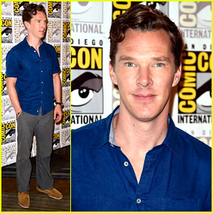 Benedict Cumberbatch Attends First Comic-Con, Comments on 'Doctor Strange' Rumors!