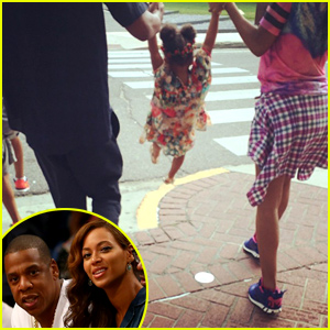 Beyonce Shares Happy Family Photo with Jay Z & Blue Ivy Amid Rumors of Marriage Issues