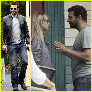 Bradley Cooper Gets a Set Visit from Suki Waterhouse in New Orleans