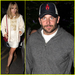 Bradley Cooper & Suki Waterhouse Dine with Friends in London