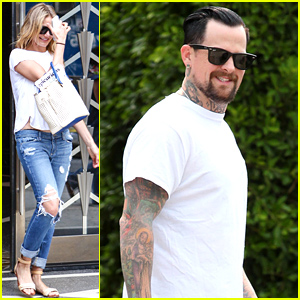 Cameron Diaz & Benji Madden Are Back in the States After Their Romantic Getaway