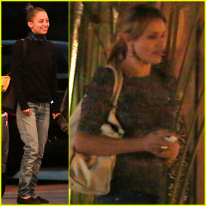 Cameron Diaz & Benji Madden Get 'Candid' with Nicole Richie at Dinner