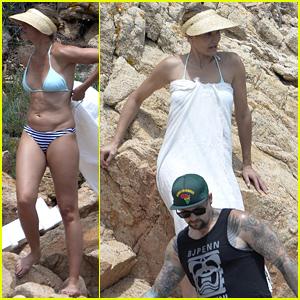 Cameron Diaz & Benji Madden Enjoy Romantic Seaside Getaway in Italy - See the Pics!