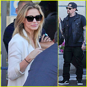 Cameron Diaz Can't Be Without Boyfriend Benji Madden in Rome