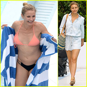 Cameron Diaz Introduced New Boyfriend Benji Madden to Her Family in Florida!