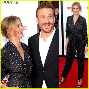 Cameron Diaz & Jason Segel Let Hollywood See Their 'Sex Tape'