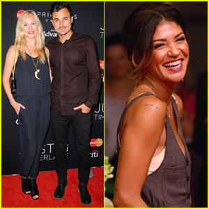 Jessica Szohr Joins Candice Accola For Justin Timberlake Concert