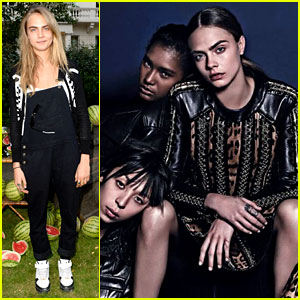 Cara Delevingne Stars in New Balmain Campaign - Check It Out!