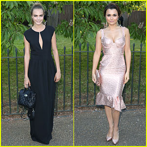 Cara Delevingne & Samantha Barks Are the Epitome of Classy Chic at Serpentine Gallery Party!