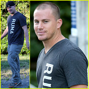 Channing Tatum Shaves His Head & Still Looks Incredibly Hot