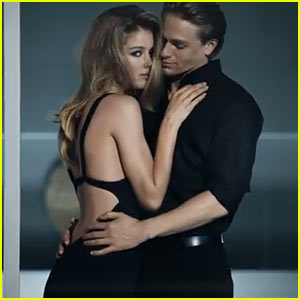 Charlie Hunnam Can't Keep His Hands Off Doutzen Kroes in Hot Calvin Klein Ad - Watch Now!