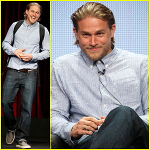 Charlie Hunnam Speaks Up About 'Sons of Anarchy' Emmy Snubs at FX TCA Panel