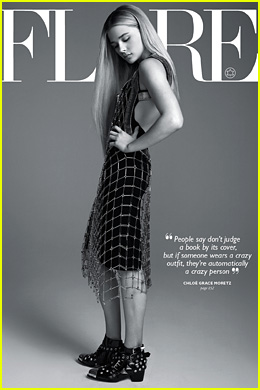 Chloe Moretz Talks Boys & Fashion for 'Flare' September 2014