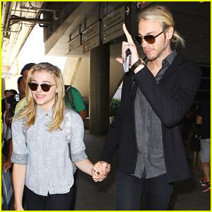 Chloe Moretz Meets Jared Leto While In Paris